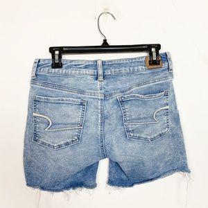 American Eagle Outfitters Shorts - American Eagle Super Stretch Cut-Off Denim Shorts